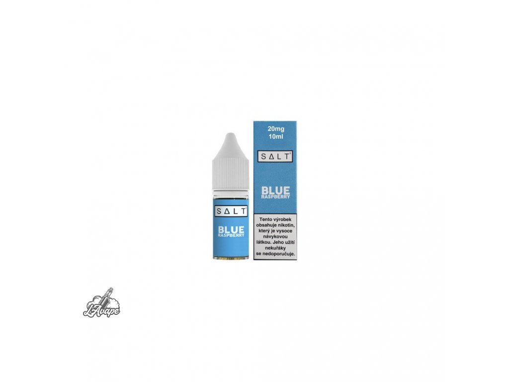 E-LIQUID JUICE SAUZ SALT BLUE RASPBERRY 10ML - 20MG NIKOTINU/ML - lavape.cz