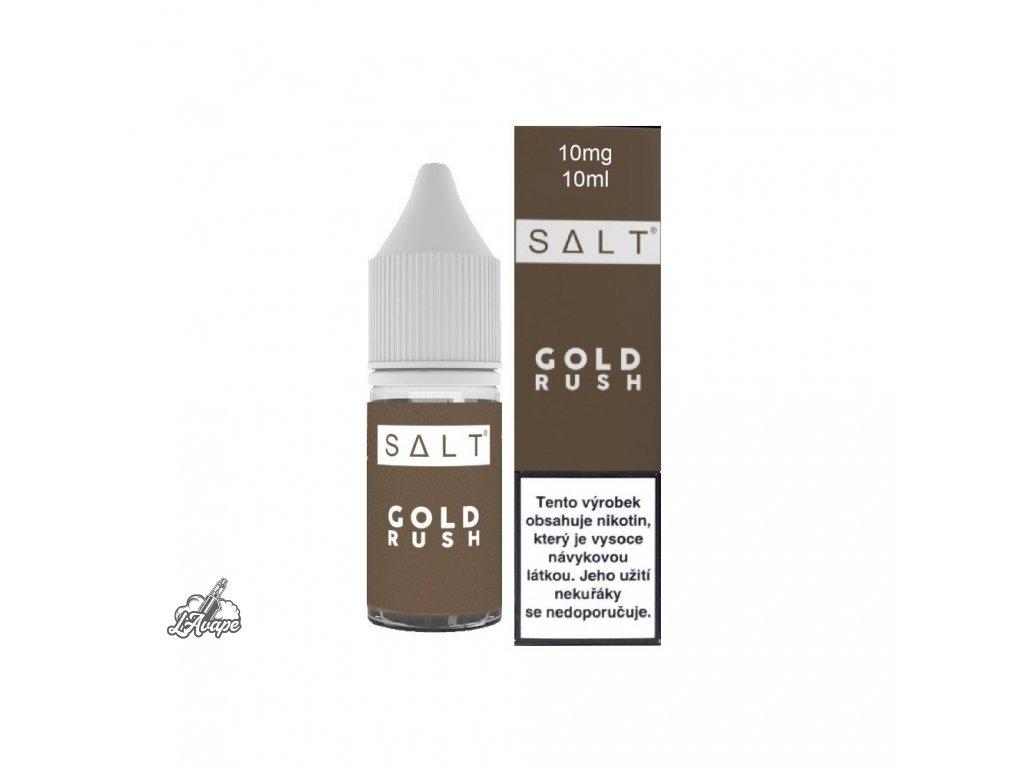 E-LIQUID JUICE SAUZ SALT GOLD RUSH 10ML - 10MG NIKOTINU/ML - lavape.cz
