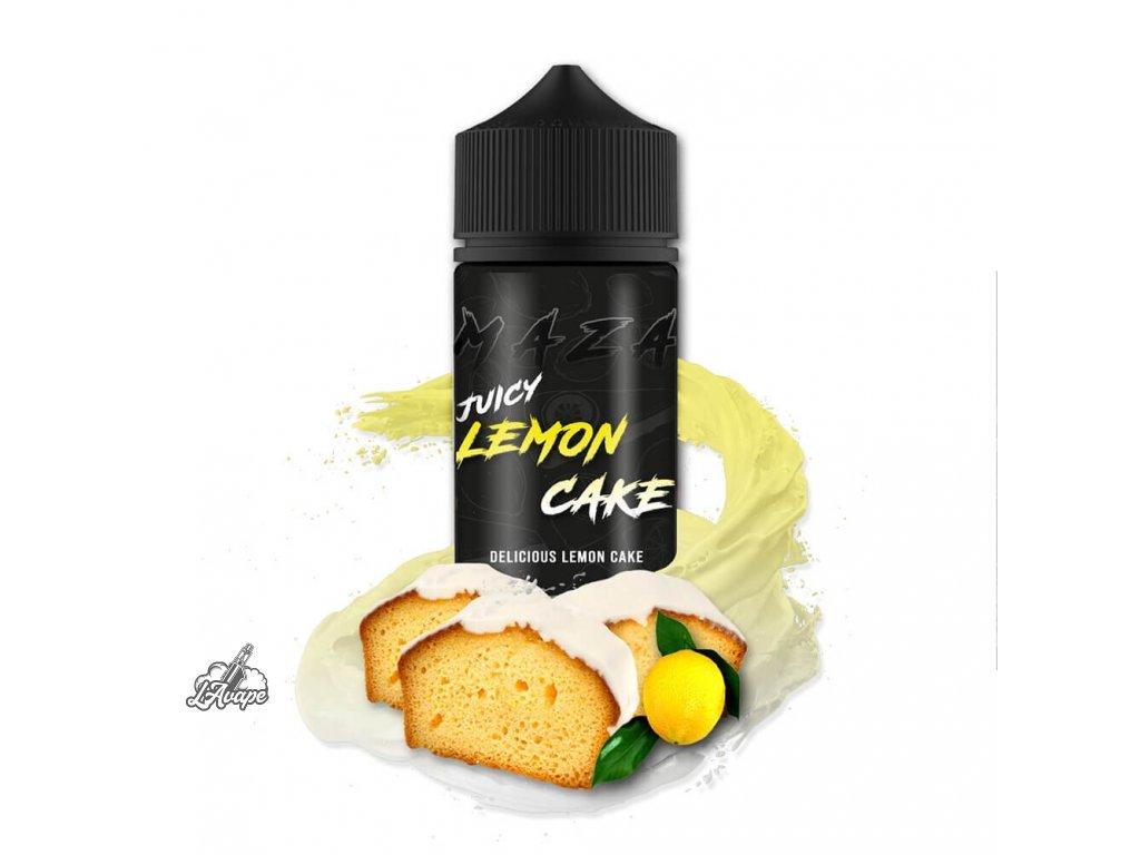 Příchuť 20ml v 120ml lahvičce - MAZA JUICY LEMON CAKE -  LAVAPE.CZ