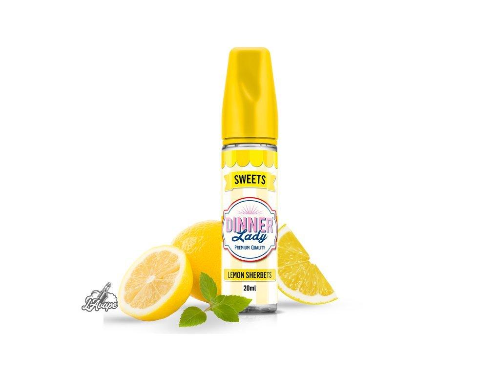 Dinner Lady Sweets Lemon Sherbet SnV 20ml v 60 ml lahvičce. lavape.cz