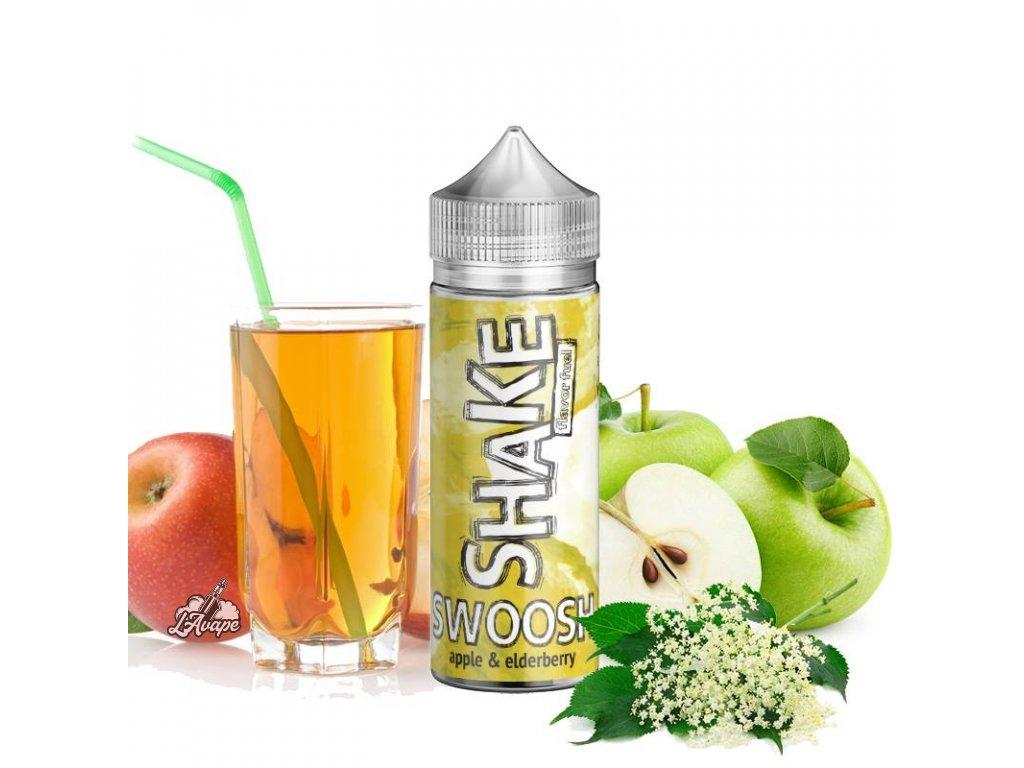 Příchuť 24ml v 120ml lahvičce - AEON SHAKE Swoosh. Profil: jablka, bezinka. LAVAPE.CZ