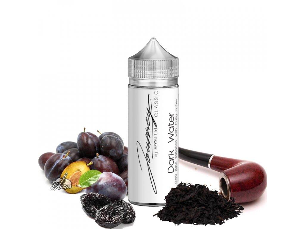 Příchuť 24ml v 120ml lahvičce - AEON Journey Classic Dark Water - dýmkový tabák, sušené švestky. LAVAPE.CZ