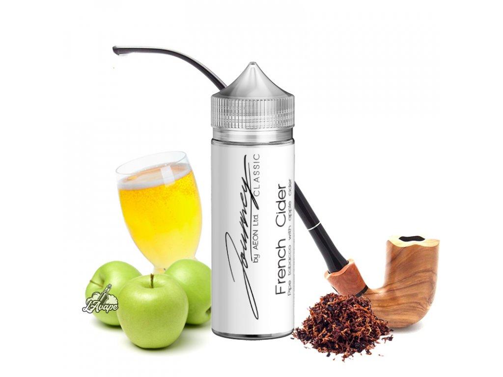 Příchuť 24ml v 120ml lahvičce - AEON Journey Classic French Cider - světlý dýmkový tabák, jablečný cider. LAVAPE.CZ