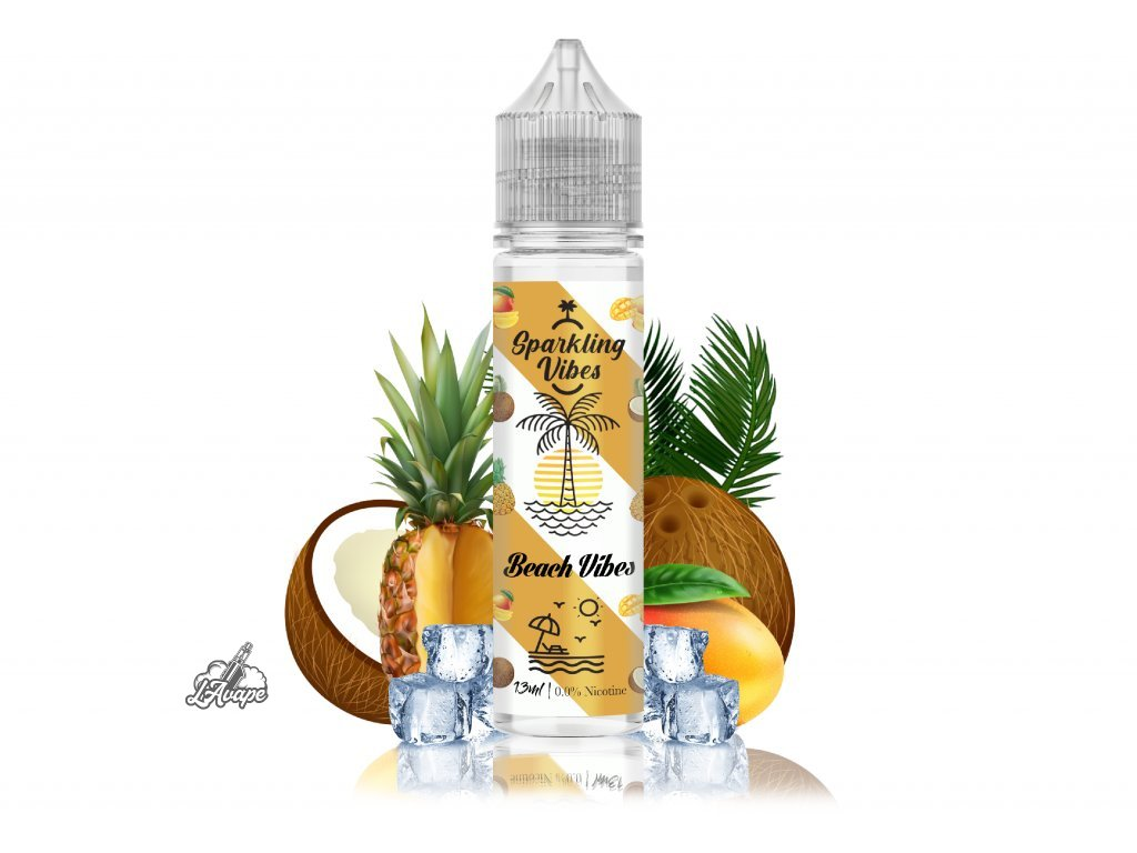 TI Juice - Sparkling Vibes Beach Vibes - SnV 13 ml v 60 ml lahvičce. lavape.cz