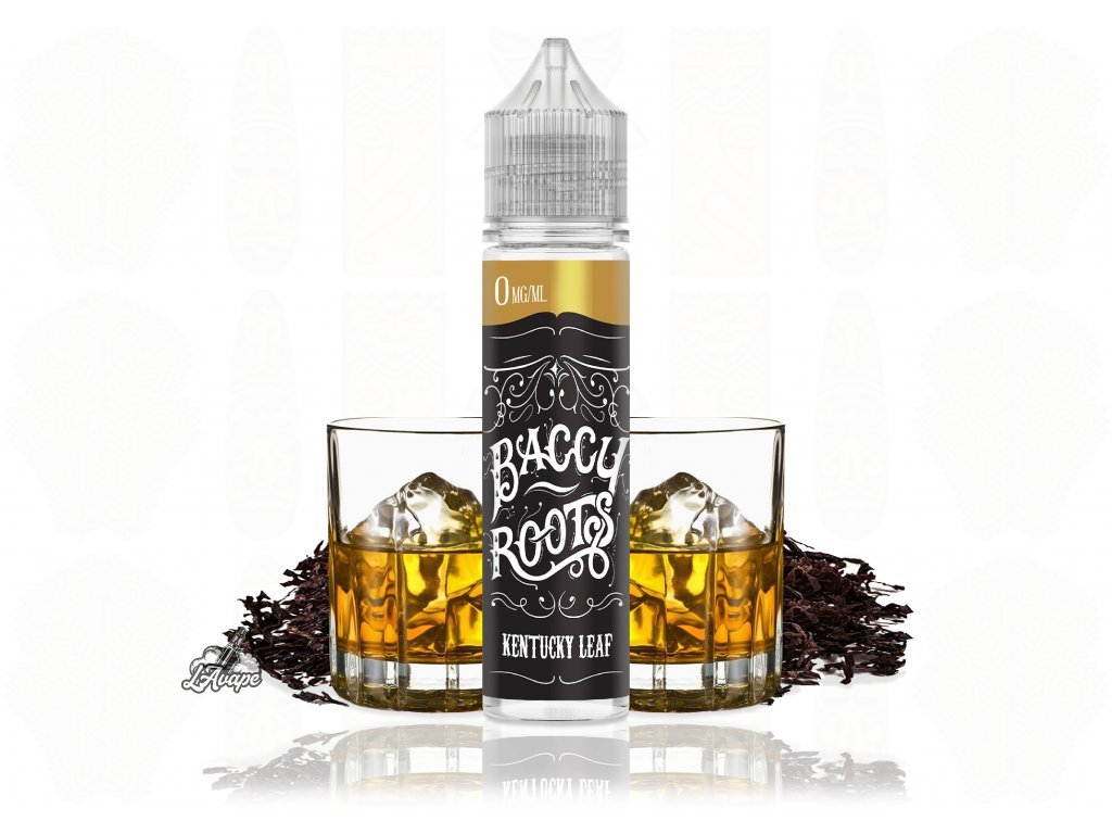 Baccy Roots Kentucky Leaf SnV 18 ml v 60 ml lahvičce.