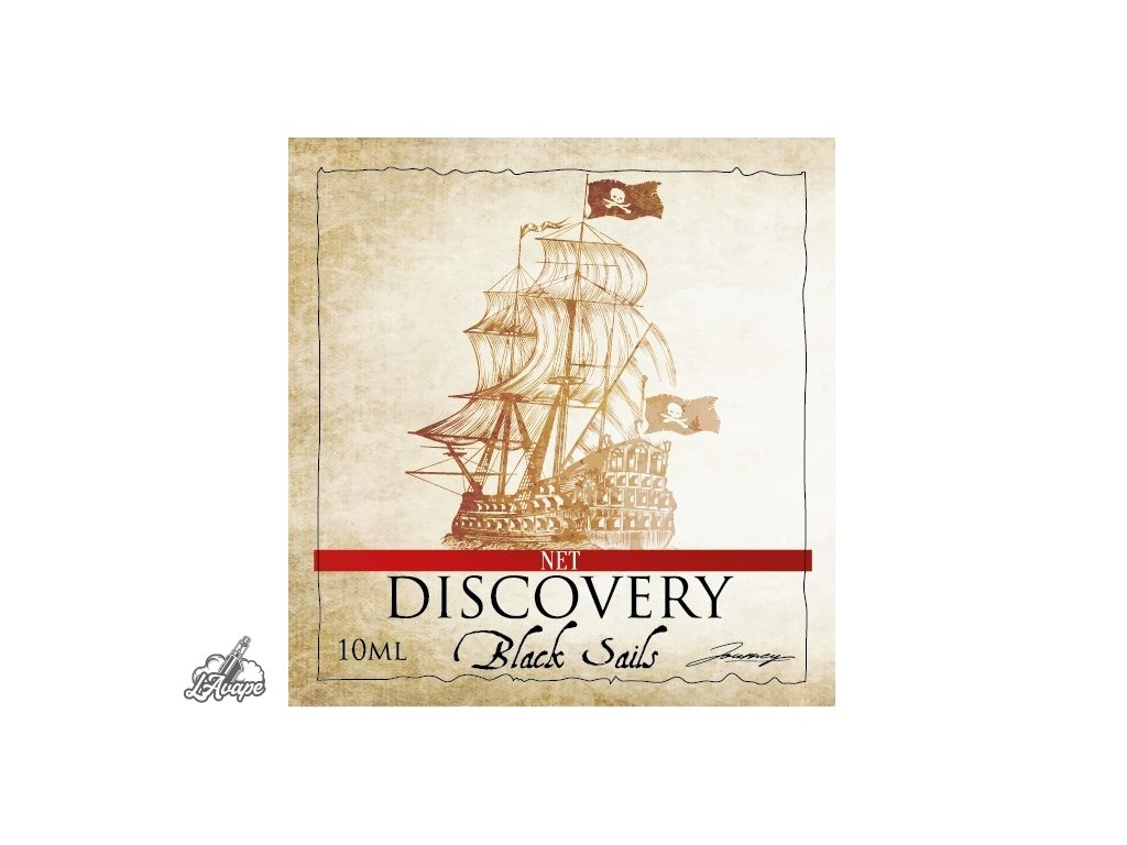net discovery by journey black sails 10ml