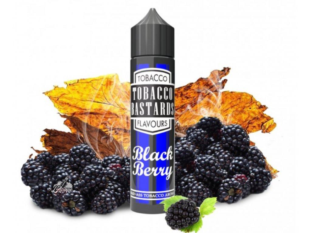 Flavormonks Tobacco Bastard Fruit Blackberry Tobacco - Klasický těžký tabák s čerstvou lesní ostružinou. - lavape.cz