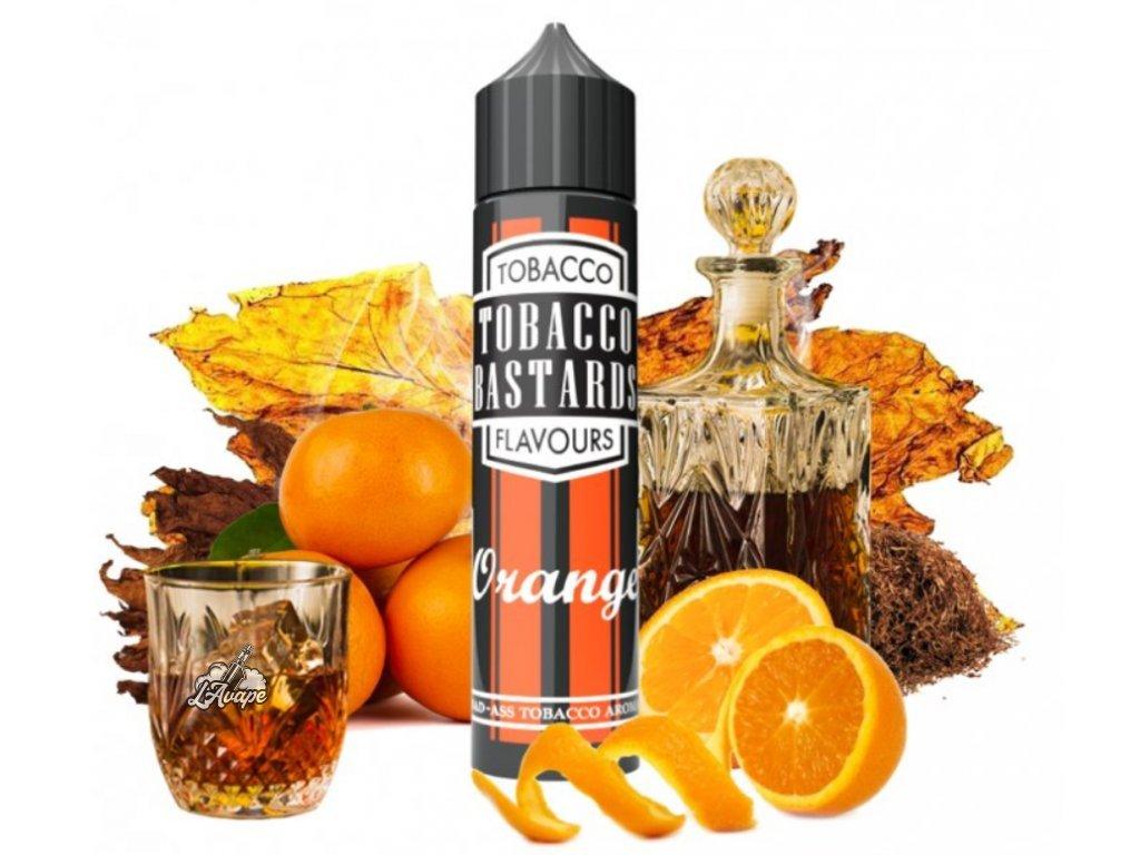 Flavormonks Tobacco Bastard Fruit Orange Tobacco - Oblíbený Tobacco Bastards No 9 Bourbon doplněný o zralou pomerančovou kůru - lavape.cz
