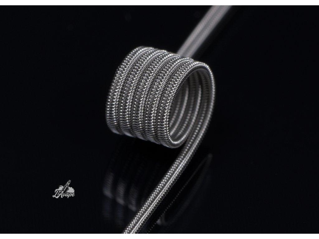 TD COILS C-Coil NI80 0,9 Ohm - ručně motaná spirálka. NI80 0,7 Ohm. MTL / LEHKÉ DL - lavape.cz