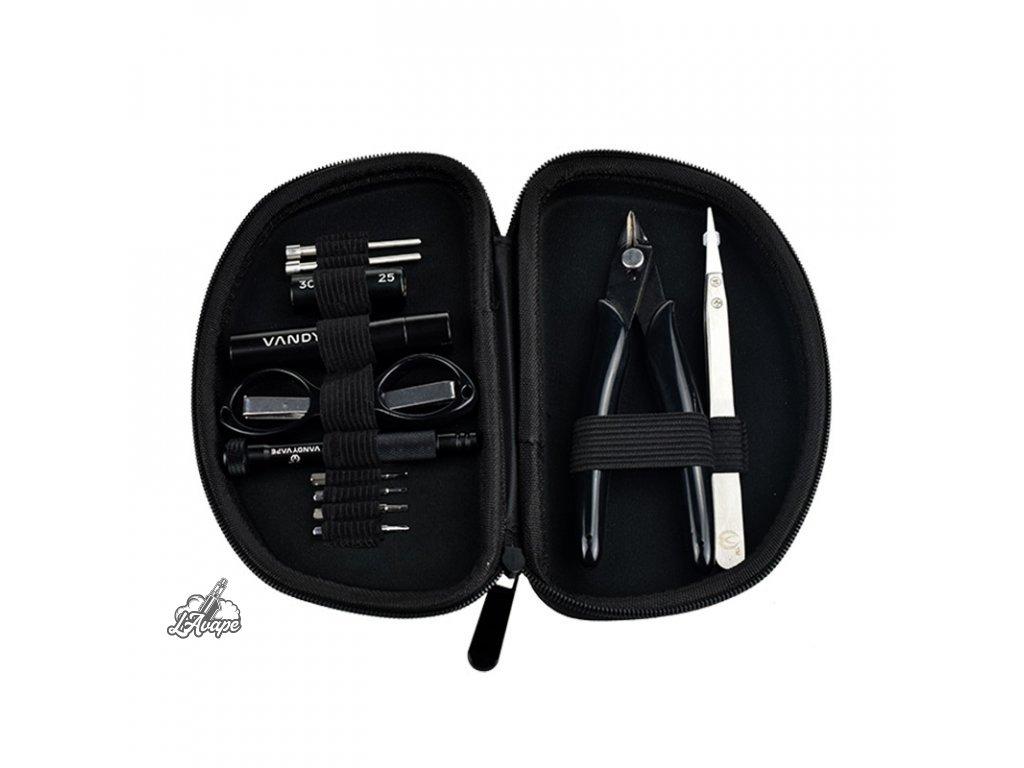 DIY Kit Pro Vandy Vape - Vandy Vape Tool Kit Pro je profesionální all-in-one sada vhodná pro každého vapera. - lavape.cz
