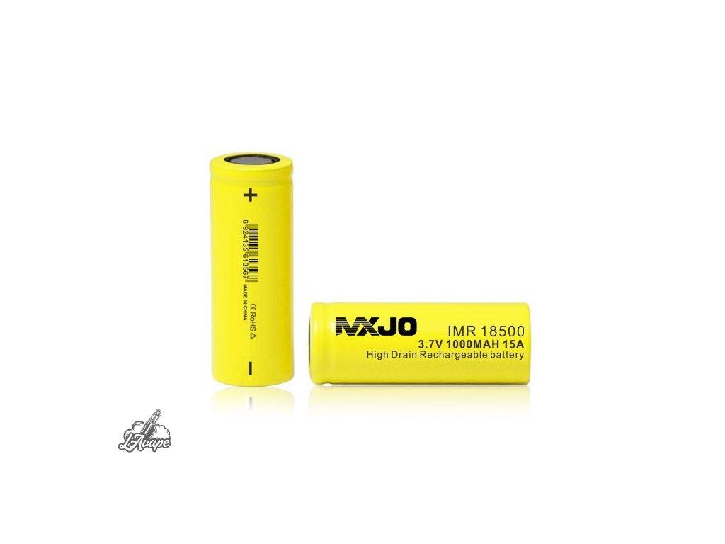 MXJO - baterie 18500 - 1000mAh - 15 A - lavape.cz