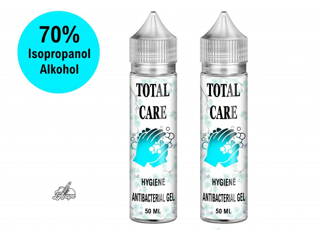 TOTAL CARE - HAND SANITIZER - dezinfekce na ruce s obsahem isopropylalcoholu min 70% lavape.cz