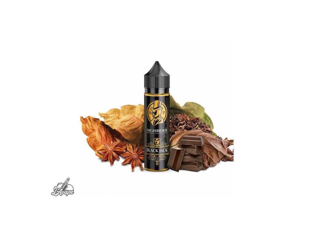 PJ EMPIRE HIGH RIDER Black Jack SnV 20 ml v 60 ml lahvičce - těžký tabák, anýz - LAVAPE.CZ