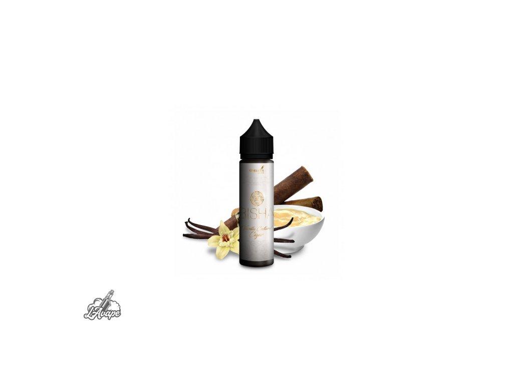Omerta Carat Bisha SnV 20 ml v 60 ml lahvičce. Silný tabák, vanilkový pudink.