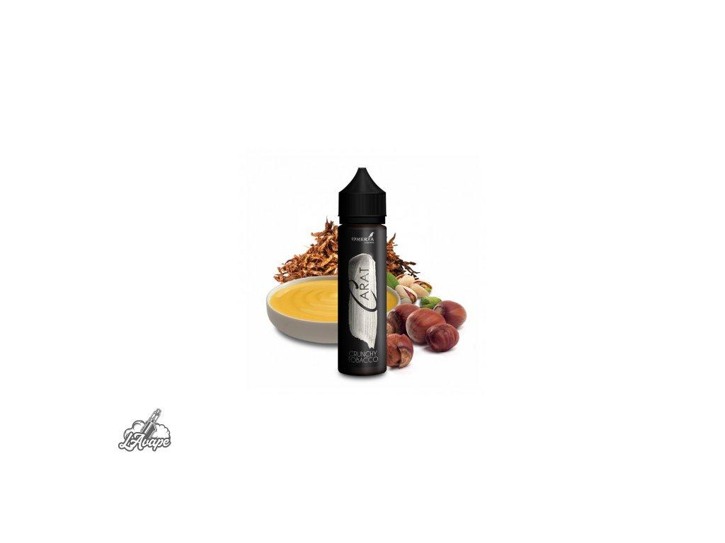 Omerta Carat Crunchy Tobacco SnV 20 ml v 60 ml lahvičce. Jemný tabák, lískový oříšek, pistácie. lavape.cz