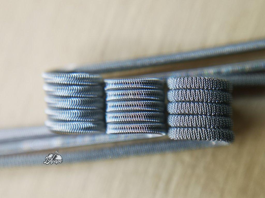 TD COILS MTL Test Coils - ručně vyráběné spirálky 3 ks v balení. LAVAPE.CZ