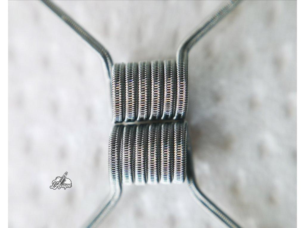 TD COILS FeV Custom Coil NI80 0,7 Ohm. Ručně vyráběné spirálky pro atomizér FeV. lavape.cz