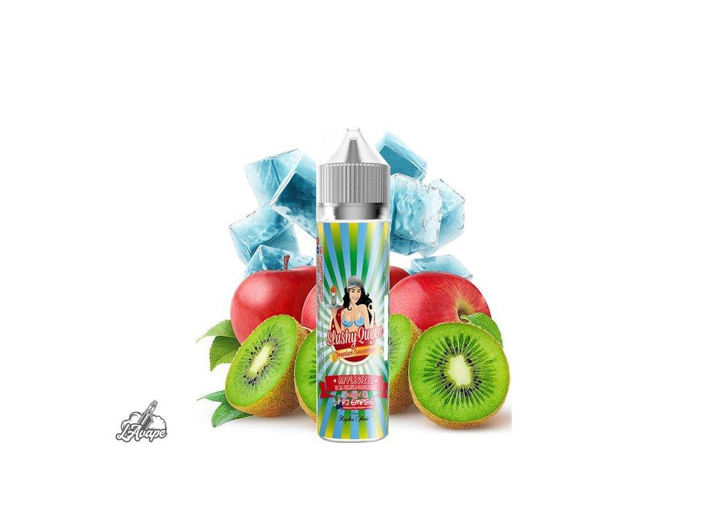 PJ EMPIRE SLUSHY QUEEN Applegizer SnV 12 ml v 60 ml lahvičce - jablko, kiwi, energetický nápoj, coolada - LAVAPE.CZ