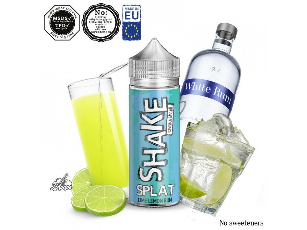 Příchuť 24ml v 120ml lahvičce - AEON SHAKE Splat - Citron, limetka, bílý rum - lavape.cz