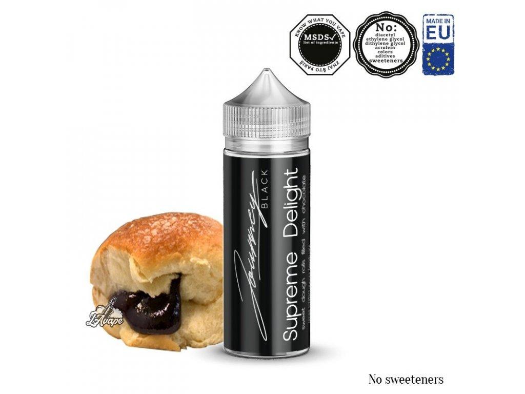 Příchuť 24ml v 120ml lahvičce - AEON Journey Black Supreme Delight - klasické buchty s čokoládou - lavape.cz