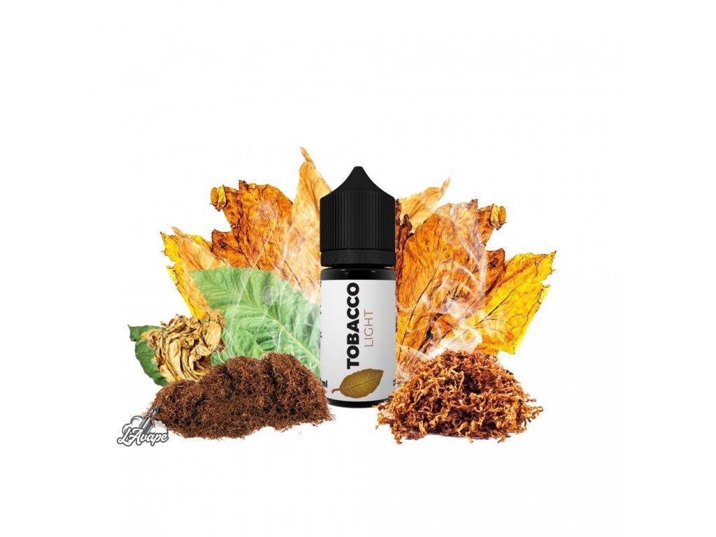 Tobacco - Light 10 ml příchuť pro vapery. Lehká cigaretka. LAVAPE.CZ