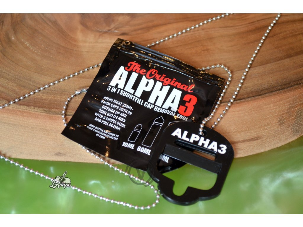 Otvírák Alpha 3 - LAVAPE.CZ