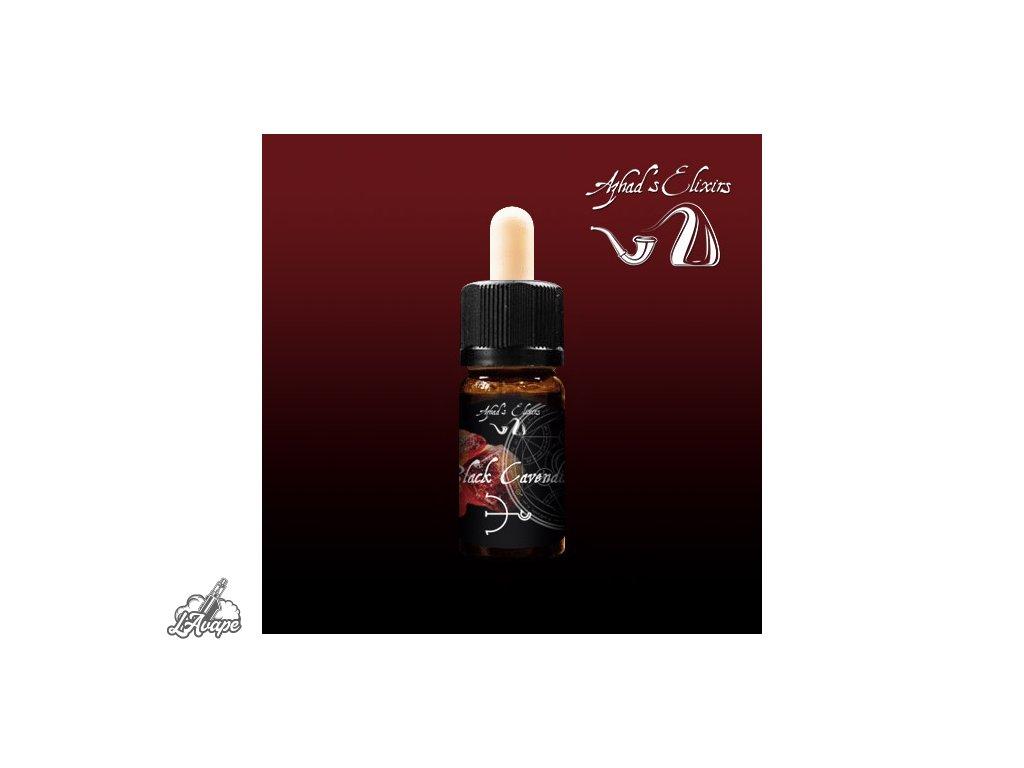 Azhad´s Elixir Pure Black Cavendish. 10 ml aroma - Lavape.cz