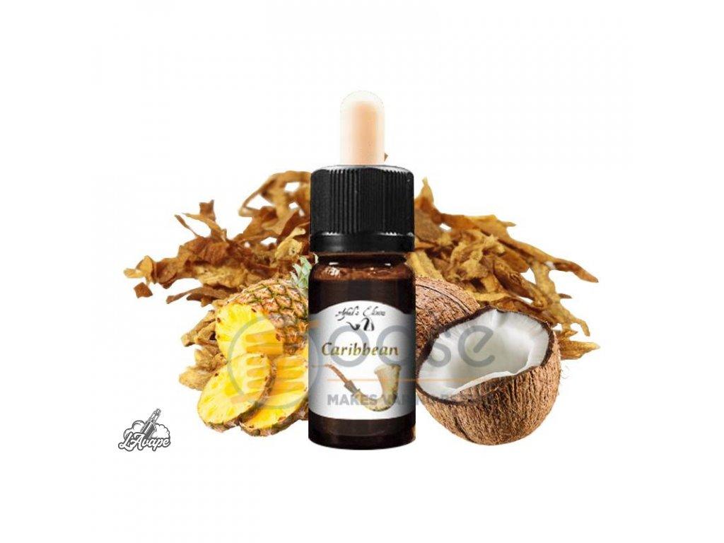 Azhad´s Elixir Signature Caribean. 10 ml aroma - black cavendish, virginia, kokos a ananas. lavape.cz