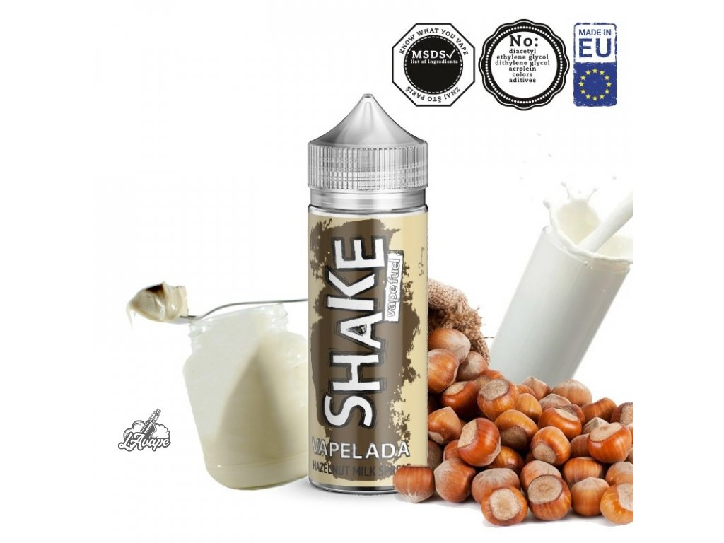 Příchuť 24ml v 120ml lahvičce - AEON SHAKE Vapelada - Lískooříškový mléčný krém. lavape.cz