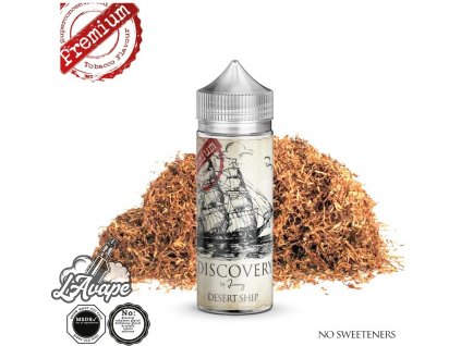 Příchuť 24 ml v 120 ml lahvičce - AEON Discovery Desert Ship. Intenzivní tabák. lavape.czdiscovery by journey desert ship 24ml in 120 longfill cr