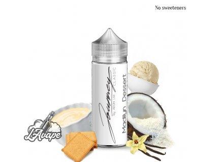 Příchuť 24 ml v 120 ml lahvičce - AEON STRADA 15 - Profil: Kokosová zmrzlina - lavape.cz