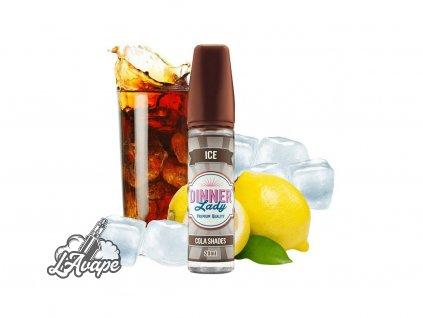Dinner Lady Ice Cola Shades SnV 20ml v 60 ml lahvičce. Citrónová chladivá cola. lavape.cz