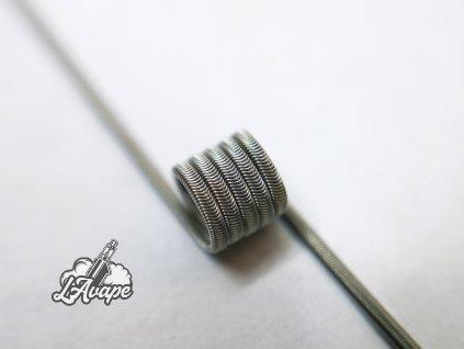 TD COILS MTL ALIEN Fused Clapton NI80 0,8 Ohm 2 ks - lavape.cz