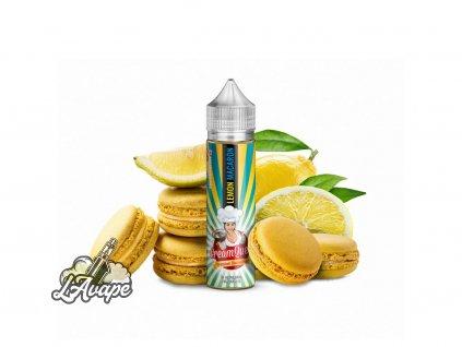 PJ EMPIRE CREAM QUEEN Lemon Macaron SnV 10 ml v 60 ml lahvičce - macaron, citron - LAVAPE.CZ