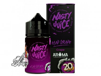 Nasty Juice ASAP Grape SnV 20ml v 60 ml lahvičce.