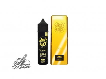 Nasty Juice Gold Blend SnV 20ml v 60 ml lahvičce.