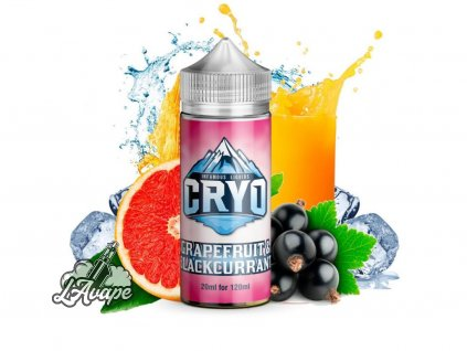 Infamous Cryo Grapefruit and Blackcurrant. Grep, černý rybíz, chladivé. 20ml SNV