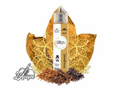 Lord Of The Tobacco - Goldman SnV 12 ml v 60 ml lahvičce. lavape.cz