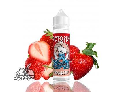 Příchuť SNV 10 ml v 60ml lahvičce - Octopus - Strawberry - jahody. lavape.cz