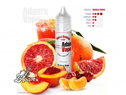 Adam´s Vape Blood Orange Slush SnV 12 ml SnV 12 ml - ledová tříšť - lavape.cz