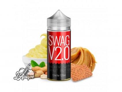 Infamous Originals SWAG V2.0 - Infamous Originals - SWAG V2.0 - grahamová sušenka s arašídovým máslem. - lavape.cz
