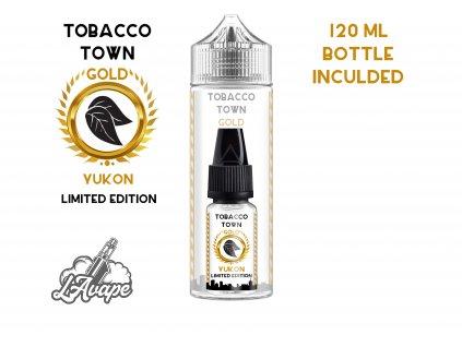 TI Juice - Tobacco Town Yukon Gold Limited Edition - SnV 10 ml v 120 ml lahvičce. lavape.cz