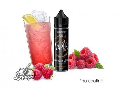 Příchuť 6 ml v 60 ml lahvičce -AEON Vaper Pub Raspberry Liquor. Malinová limonáda. lavape.cz