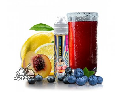 PJ EMPIRE SLUSHY QUEEN NO ICE BLUEBERRY LEMONADE SnV 20 ml v 60 ml lahvičce - LAVAPE.CZ