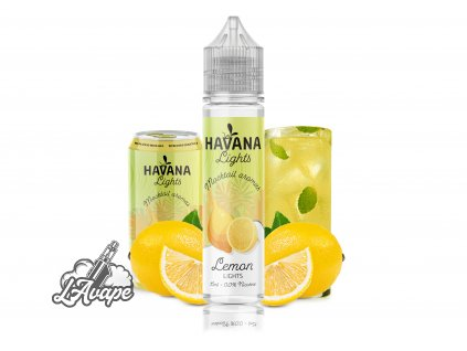 TI Juice - Havana Lights Lemon Lights - SnV 15 ml v 60 ml lahvičce. lavape.cz