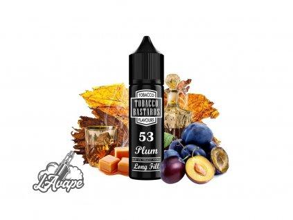 Příchuť SNV 12ml v 60ml lahvičce - Flavormonks Tobacco Bastard No. 53 Plum