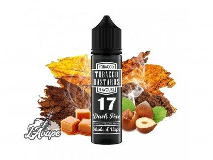Flavormonks Tobacco Bastard No. 17 Dark Fire - Vydatná chuť tabákového kouře s nádechem ořechu, spáleného cukru a karamelu. - lavape.cz