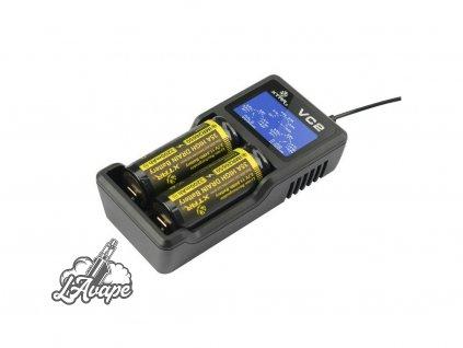 XTAR VC2 LCD USB NABÍJEČKA - 2 sloty - lavape.cz