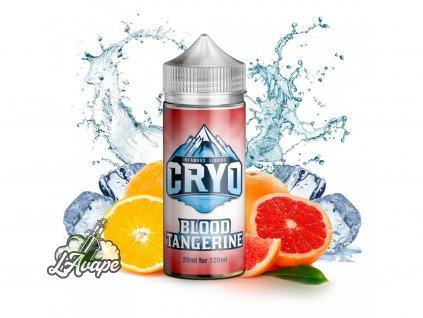 Infamous Cryo Blood Tangerine - Krvavý pomeranč, lépe řečeno červený se zde snoubí se sladkou mandarinkou. Nechte se unést touto chladivou citrusovou bombou, vychlazenou k dokonalosti. - lavape.cz