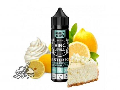 VINC Master Key - to je luxusní tvarohový cheesecake s výrazným korpusem, lehkvou nadýchanou smetanou doplněný o firemní citrónovou složku. Vynikající záležitost pro milovníky dezertových příchutí! - lavape.cz